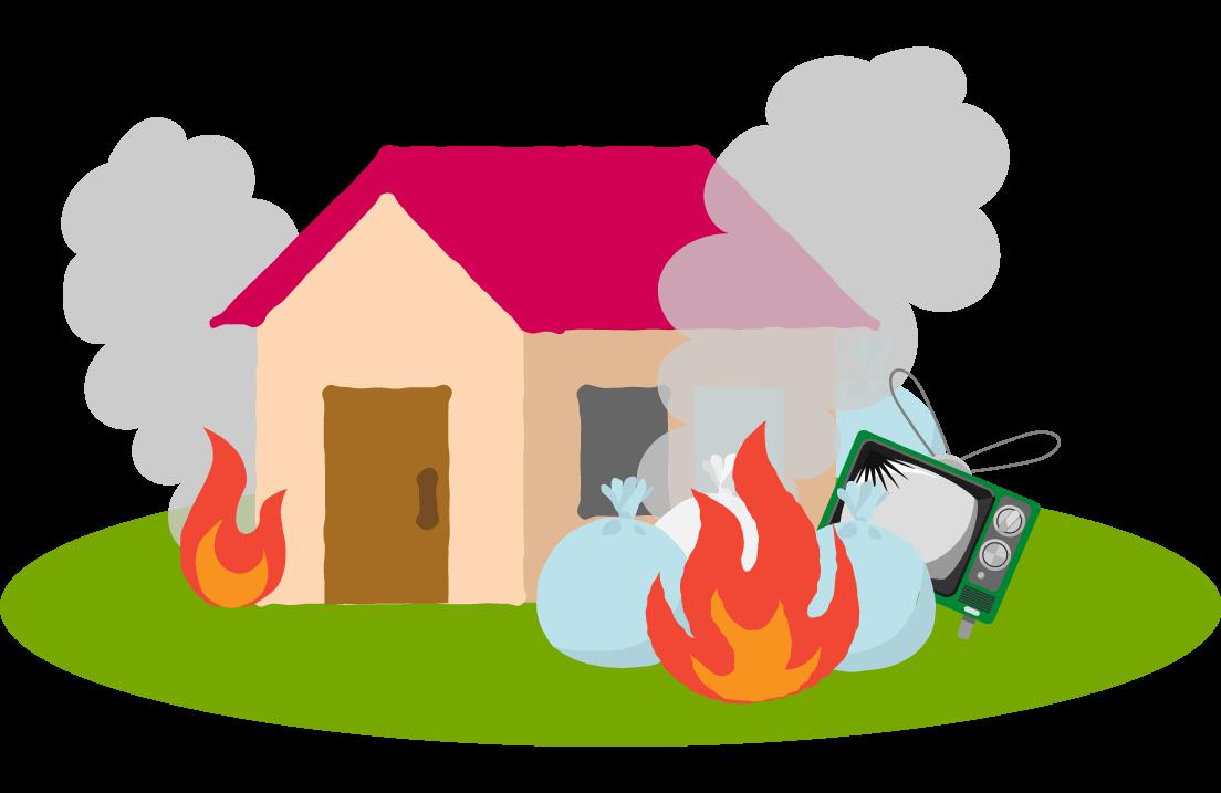 防犯上の不安や火災の恐れ